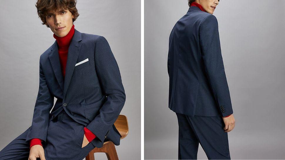 Modebewusster Anzug