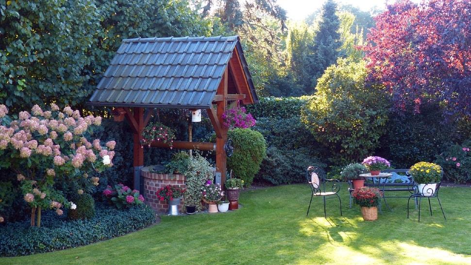 Simple Gartenideen Idylle